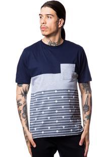 Camiseta Zero Mix Stripes Masculina - Masculino