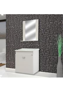 Conjunto De Banheiro Reggio Branco