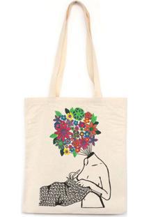 Tudo São Flores - Bolsa De Lona