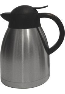 Garrafa Térmica Bon Gourmet 1.2 Litros Aço Inox/Pr - Unissex
