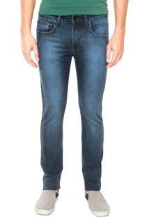 Calça Sarja Calvin Klein Jeans Super Skinny Azul