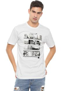 Camiseta Rusty Mixtake Sb Branca