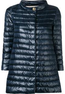 Herno Funnel Neck Padded Jacket - Azul