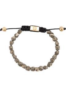 Nialaya Jewelry Pulseira De Pirita - Neutro