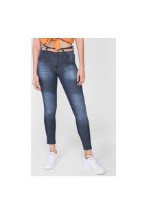 Calça Jeans Biotipo Skinny Mid Azul