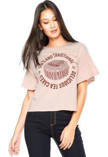 Camiseta Lez A Lez Scotland Rosa