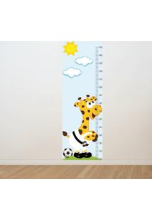 Adesivo Régua De Crescimento Girafa Vasco Futebol (0,50M X 1,50M)