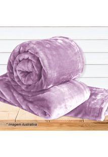 Cobertor Super Soft Solteiro - Rosa - 160X220Cm Sultan