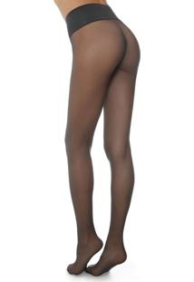 Meia Calça Sem Costura Fio 20 Totally Invisible Premium - Cinza P