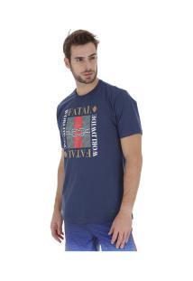 Camiseta Fatal Estampada 22356 - Masculina - Azul Escuro
