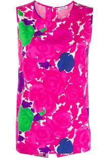 P.A.R.O.S.H. Blusa Com Estampa De Rosas