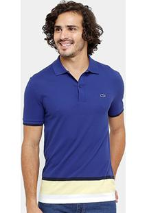 Camisa Polo Lacoste Piquet Colors Slim Fit Masculina - Masculino