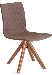 Cadeira Giratória Luanda Estofado Anatômico Design Contemporâneo Casa A Móveis