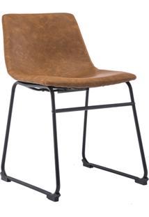 Cadeira Bruna Marrom Rivatti Móveis
