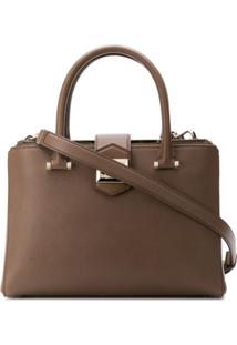 Jimmy Choo Marianne Tote Bag - Marrom