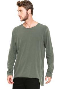 Camiseta Osklen Eco Cut Verde