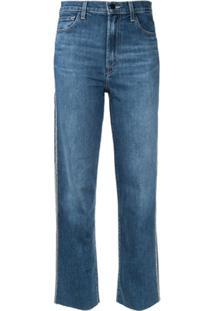 J Brand Calça Jeans Jules Cintura Alta - Azul