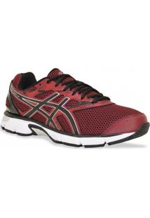 Tenis Asics Running Gel Excite 4 Bordo Preto