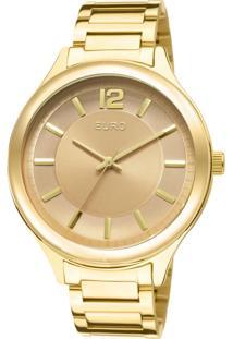 Relógio Euro Feminino Caen Eu2035Lqy/4M - Dourado