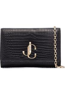 Jimmy Choo Varenne Clutch - Azul