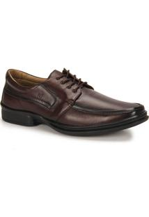Sapato Social Conforto Masculino Rafarillo - Castanho