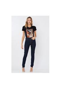 T Shirt Livia Preto