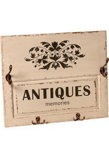 Quadro Decorativo De Parede Antiques Com Ganchos