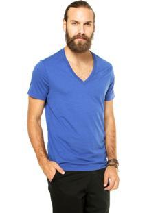 Camiseta G-Star Reta Azul
