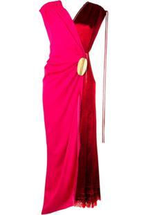 Marni Vestido Bicolor - Rosa