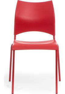 Cadeira Ingra - Vermelha