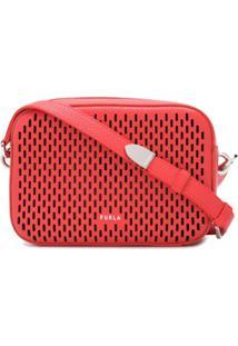 Furla Bolsa Tiracolo Com Logo E Recorte A Laser - Vermelho