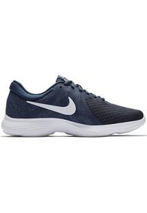 Tênis Nike Revolution 4 Feminino - Feminino-Azul+Cinza