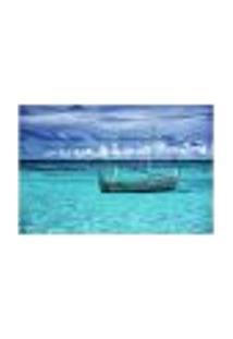 Painel Adesivo De Parede - Mar - Barco - 667Pnp