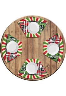 Jogo Americano Love Decor Para Mesa Redonda Wevans Restaurante Italiano Kit Com 4 Pã§S - Multicolorido - Dafiti