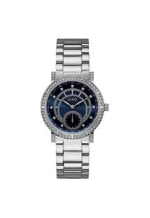 Relógio Feminino Guess Prateado Analógico 92683L0Gdna1