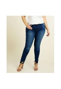 Calça Plus Size Jeans Skinny Feminina Biotipo