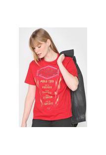 Camiseta Triton Strong Vermelha