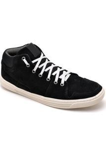 Tênis Dr Shoes Casual Masculino - Masculino-Preto