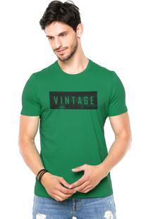 Camiseta Rgx Vintage Verde