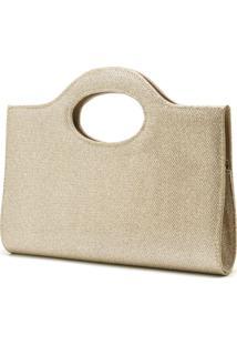 Bolsa De Mão Hendy Bag Glitter Dourada