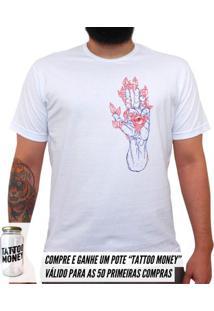 Ver Sentir - Camiseta Clássica Masculina