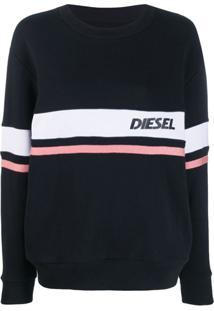 Diesel Moletom Com Logo - Preto