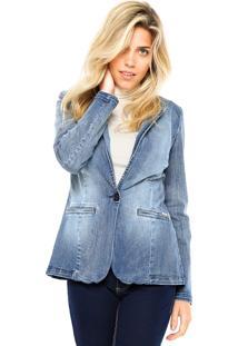 Blazer Jeans Colcci Comfort