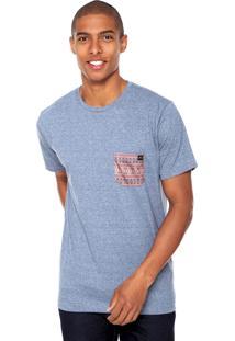Camiseta Rusty Ethinic Azul