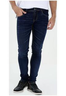 Calça Masculina Jeans Skinny Sawary