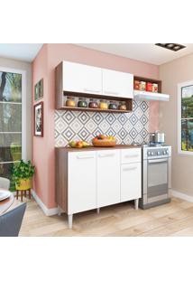 Cozinha Compacta Madri 5 Pt 1 Gv Teka E Branca