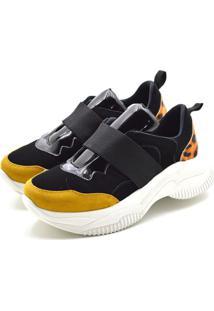 Tênis Sneaker Chuncky Ellas Online Preto