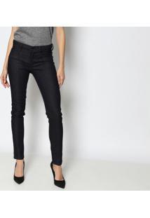 Jeans Low Second Skinny - Azul Escuro -Lança Perfumelança Perfume