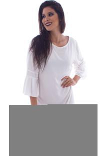 Vestido Lon Camisete Off White