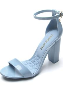 Sandália Petite Jolie Fivela Azul